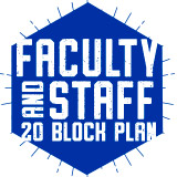 Faculty & Staff 20 Block Plan